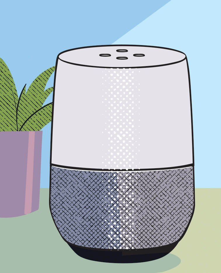 """""""Taking sensors and overlaying them into the common smartphone for Google Home or Alexa, you can make a motion detector, so, if the loved one wanders, the device says, 'Oh, Joan, go back to bed,' with the loved one's voice. It helps everyone sleep."""" –Marnie Courage"""