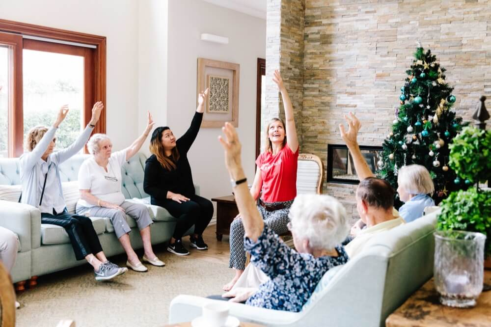 Group Homes Australia encourages residents to engage in day-to-day activities. Photo courtesy Group Homes Australia.